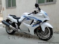 """【二手铃木跑车】09年铃木变款超级跑车白色GSX1300R""""隼""""Hayabusa"""