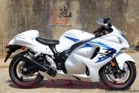 现货销售:2008年铃木GSX1300R K8隼 白色