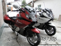 【全新宝马巡航】2012年全新宝马直列六缸休旅巡航跑车白色-红色K1600GT