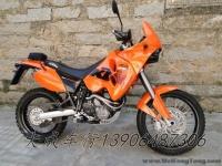 2006年奥地利橘色拉力版越野新款 KTM 640 ADVENTURE改排气 车况良好 青岛大成车行2012.12现货