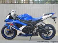2008款 铃木GSX-R600 小R K8 蓝白色