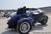 2010款庞巴迪 Spider 蓝色  自动挡