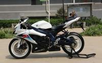 2010款纪念版铃木小R铃木GSX-600R 蓝色车架,白色邮箱 欧版带芯片