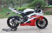 新到2007款雅马哈YZF-R6 不到三千公里 红白色