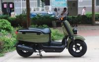 2011款雅马哈VOX 50cc排量 军绿色 非常有爱的机车,先到先得