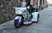 2009款本田豪华旅行金翼GL1800正三轮 白色