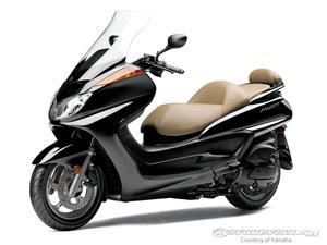 雅马哈Majesty摩托车
