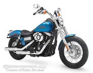 哈雷戴维森Dyna Street Bob - FXDB摩托车