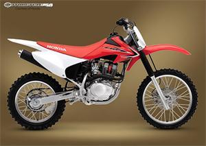 本田CRF150F摩托车