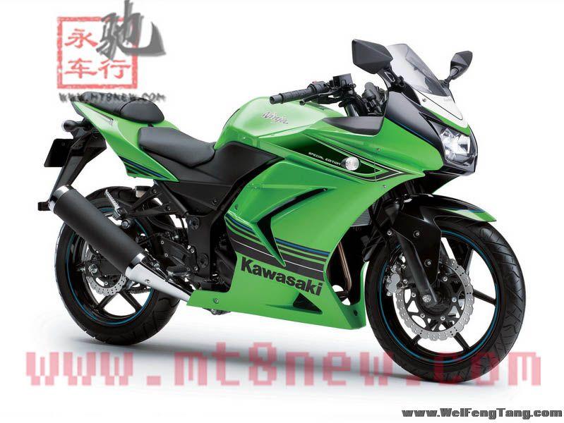 全新川崎小忍者 Kawasaki Ninja250R 接受预定 Ninja 250R图片 1