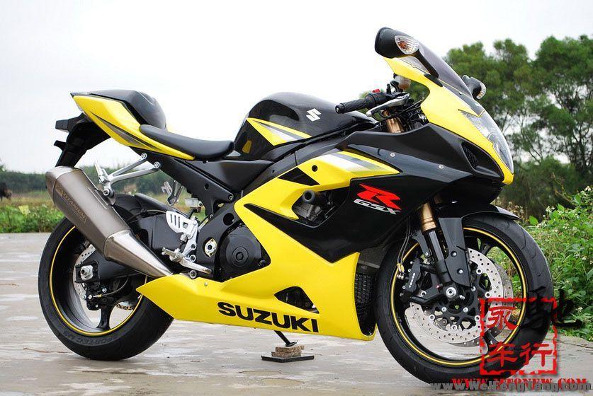 二手重型机车: 2005年铃木GSX1000RR黄色 K5 现货 图片 1