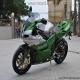 《贝乃利》2009款 个性十足跑车 龙卷风Benelli 1130 绿银色1