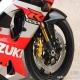 2002款 铃木 GSX-R1000 红白色 K2 原板原漆罩光油 极品成色 三万多元1