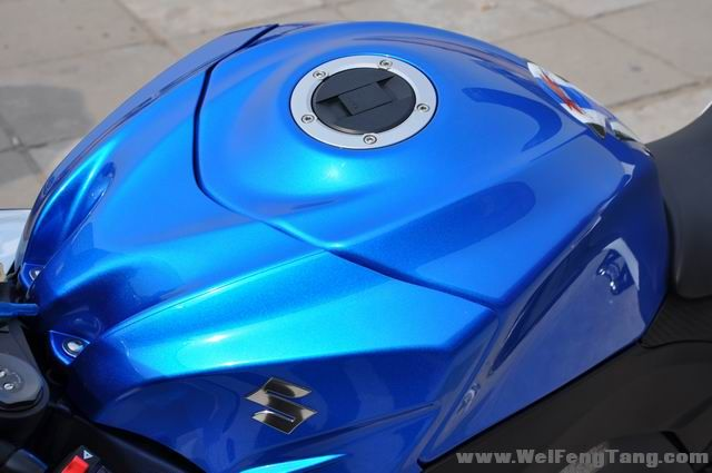 准新车2012年铃木大R GSX-R1000到货 蓝白色 GSX-R1000图片 2