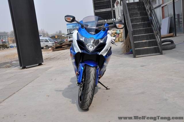 准新车2012年铃木大R GSX-R1000到货 蓝白色 图片 2