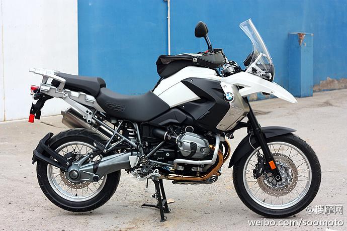 新到2011款 宝马 BMW-R1200GS 高配 白色 原板原漆 只行驶两千余英里 十多万元 R1200GS图片 1