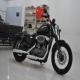 2011款亮黑色哈雷戴维森Harley Davidson XL1200N  不到700公里 成色极佳0