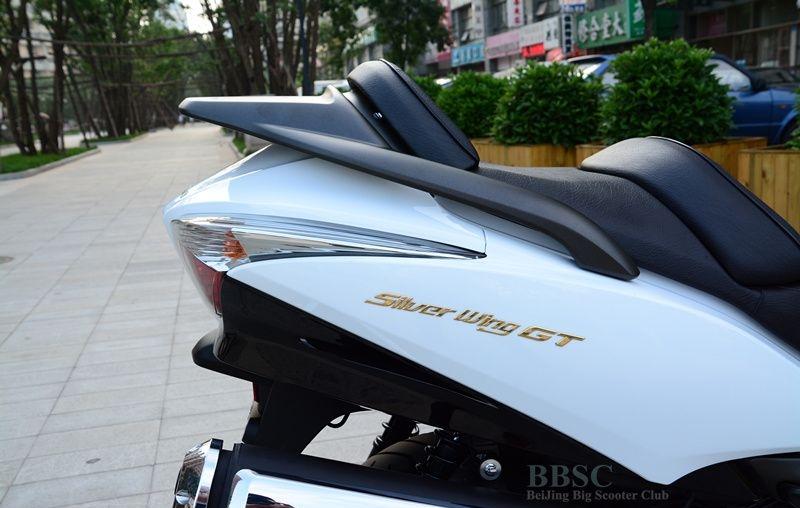 2010款本田 银翼GT600-ABS成色极佳 白色车身 Silver Wing图片 2