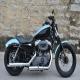 2008款气派独特哈雷 Harley Davidson XL1200N 兰黑色1