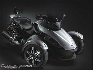庞巴迪Spyder摩托车2008图片