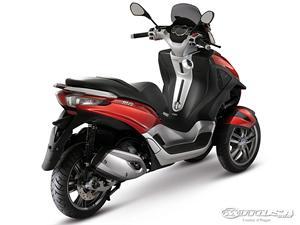 比亚乔MP3 500摩托车2011图片