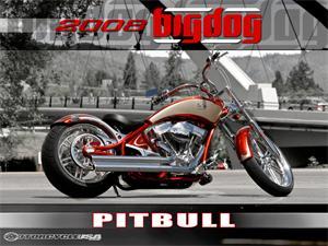 大狗Chopper摩托车2007图片