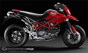 2011款杜卡迪Hypermotard 1100 EVO摩托车