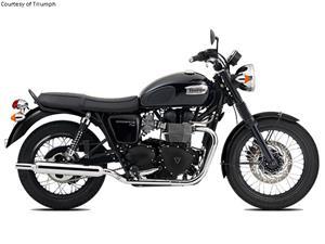 凯旋Bonneville T100 Black摩托车