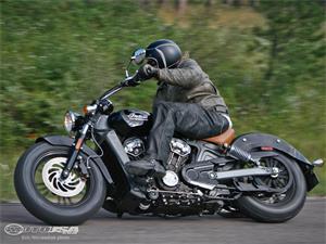 印第安Scout摩托车车型图片视频
