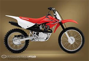2011款本田CRF100F摩托车
