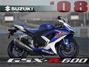 2008款铃木GSX-R600