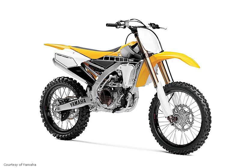 雅马哈YZ450F摩托车